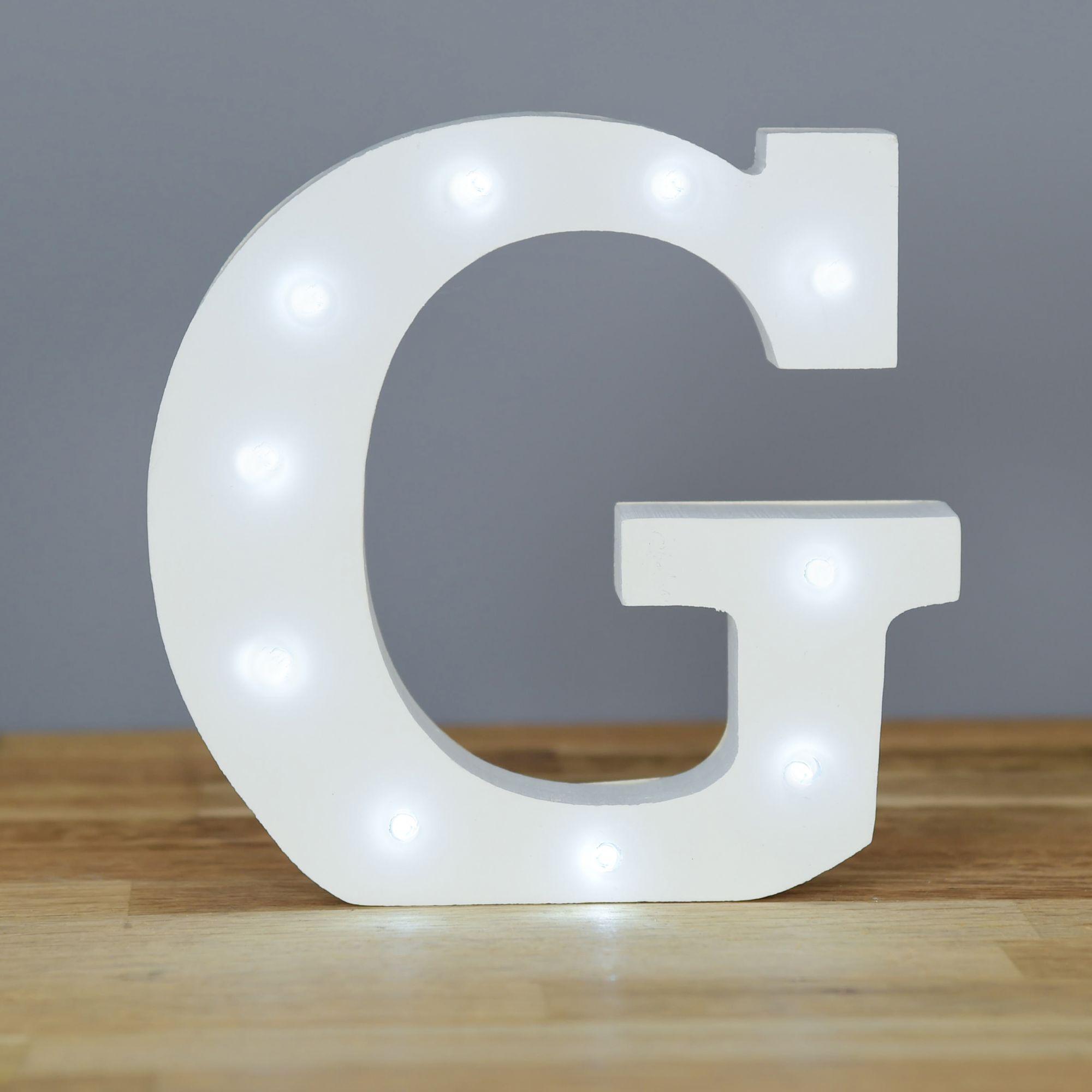 Light Up Letter G Home Decor Barbours
