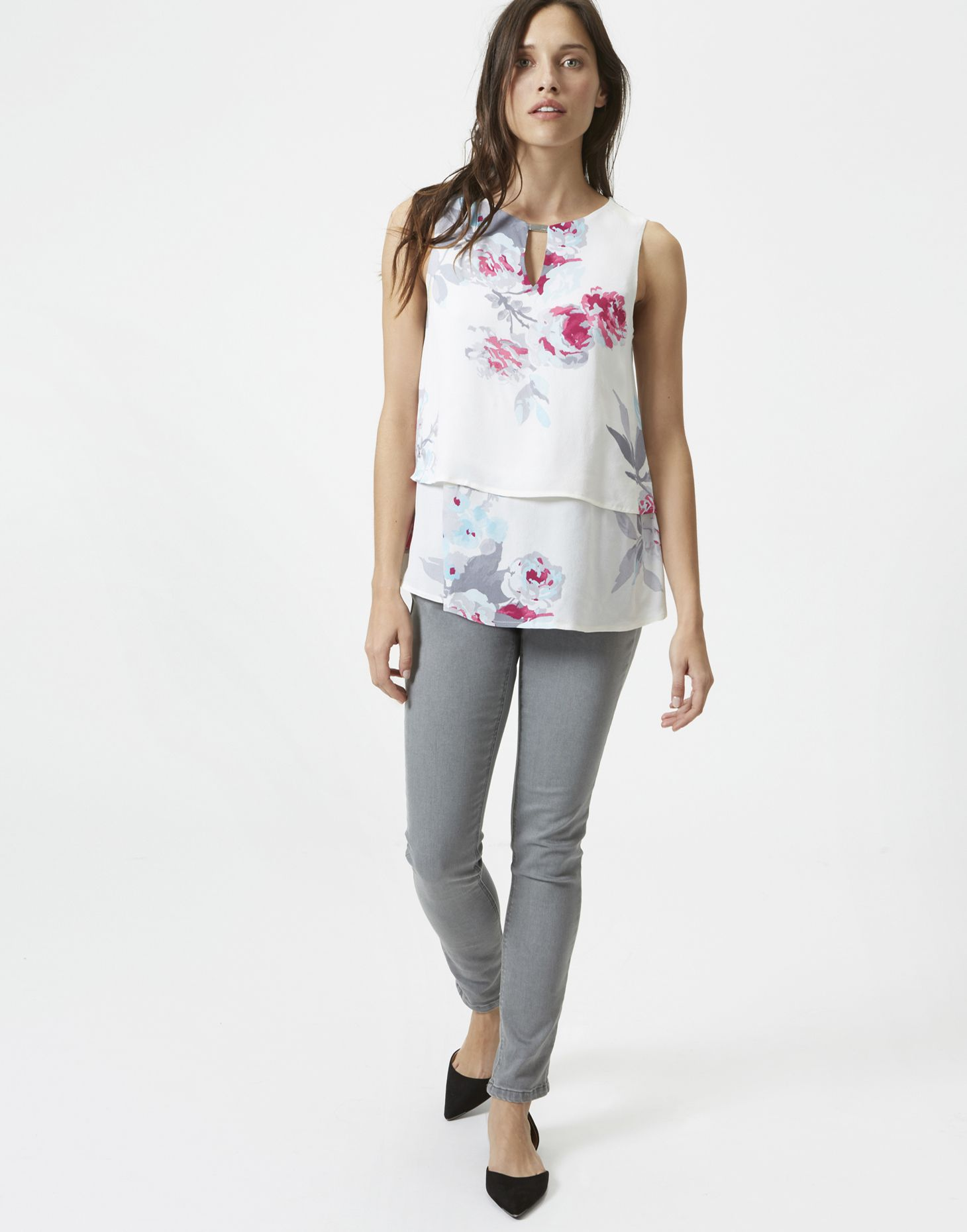 Joules Double Layer Top Tops Barbours