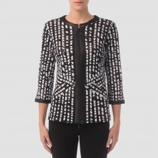 Joseph Ribkoff Jacket Black/White