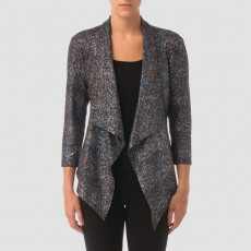 Joseph Ribkoff Jacket Black/Blue