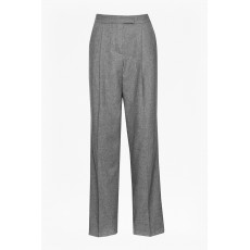 Great Plains Ida Flannel Wide Trouser Grey