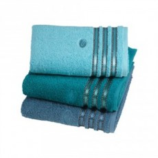 CULT BATH SHEET PETROL BLUE