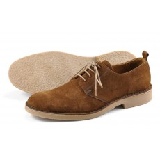 Loake Mojave Shoes Brown Suede