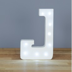 Light Up Letter J
