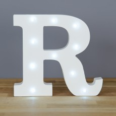 Light Up Letter R