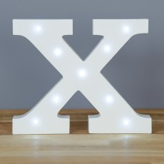 Light Up Letter X