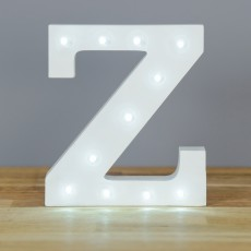 Light Up Letter Z