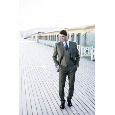 Brook Taverner Chivenor Grey Check