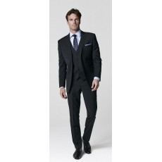 Brook Taverner Cassino Slim Fit Black