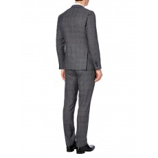 Remus Uomo Trousers Grey Check