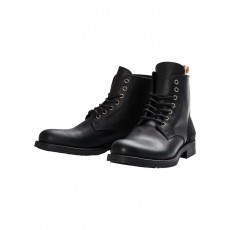 Jack & Jones Sting Leather Boots Anthracite