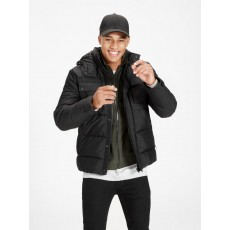 Jack & Jones Cam Puffer Jacket Black