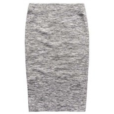 Superdry Natasha Ponte Pencil Skirt Grey Fleck