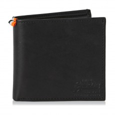 Superdry Wallet in a tin Black