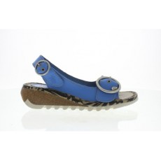 Fly London Brooklyn Smurf Blue Sandal