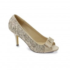 Lunar Champney Peeptoe Court