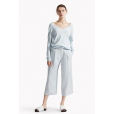 Great Plains Carlotta Cashmere Detailed Jumper Lido Blue