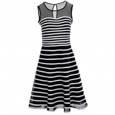 Joseph Ribkoff Dress Black & White