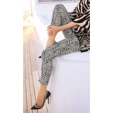 Joseph Ribkoff Trousers Black/White