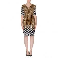 Joseph Ribkoff Dress Animal Print