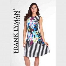 Frank Lyman Dress Multi col