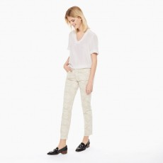 Gant Slim Cropped Floral Jean Putty