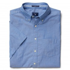 Gant Washed Pinpoint Oxf Reg Bd Ss