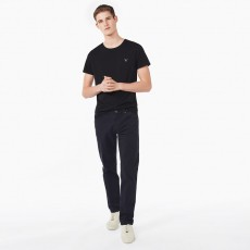 Gant Regular Straight Microtwill Jean Navy