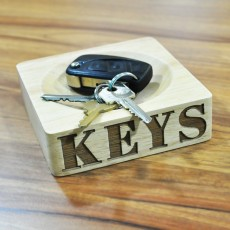 Wooden Keys Bowl