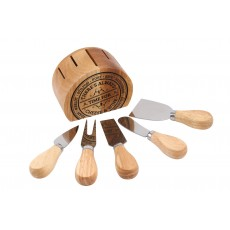 There's always time for Cheese and Wine Knife set & stand
