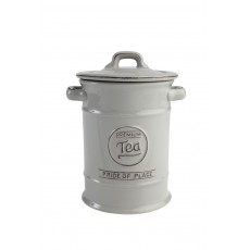 Pride of Place Tea Jar Grey