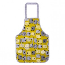 Childs PVC Apron Dotty Sheep