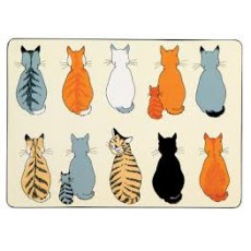 Placemat 4Pk Cats in Waiting