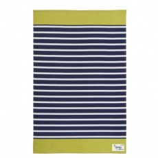 Cotton Tea Towel Sailor Stripe