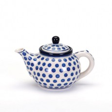 Arty Farty Small Tea Pot Blue Dot