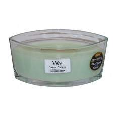Woodwick Hearth Wick Candle Cucumber Melon