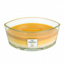 Woodwick Hearth Wick Candle Trilogy Fruits Of Summer