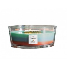 Woodwick Hearth Wick Candle Trilogy Odour Neutralising