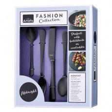 Amefa Fashion Collection Midnight Austin 24pce Cutlery