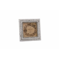 Mini Crystal & Pearl Square Frame 3x3