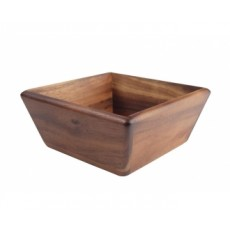 T&G Acacia Large Square Bowl