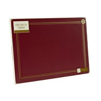 Classic Premium Placemats Red Pack6