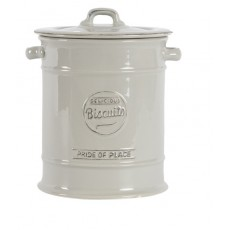 Pride of Place Biscuit Jar Grey
