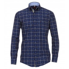 Casamoda Twill Check Shirt