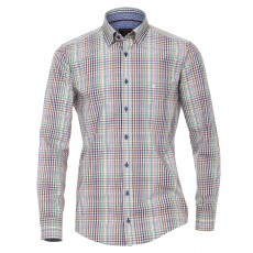 Casamoda Check Shirt Blue