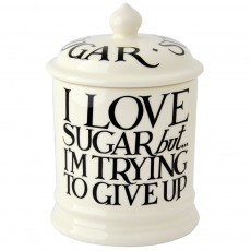 Emma Bridgewater Black Toast Sugar Storage Jar