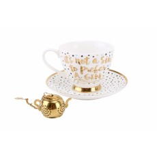 It's Not A Sin To Prefer A Gin Tea Cup Set