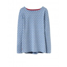 Joules Harbourprint Printed Jersey Top