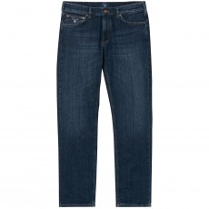 Gant Regular Jean Dark Blue Worn