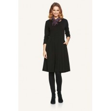 Masai Noela dress fitted long slv Navy